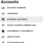 Choose External Account Transfer